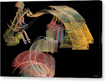 The Carriage Canvas Print by Emma Alvarez