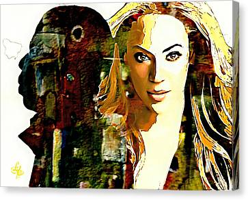 The Carters Canvas Print by Lynda Payton