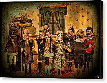 The Cast Takes A Bow Canvas Print by Chris Lord
