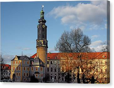 The Castle - Weimar - Thuringia - Germany Canvas Print by Christine Till