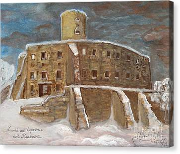 The Castle Canvas Print by Anna Folkartanna Maciejewska-Dyba