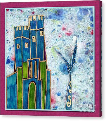 The Castle Is Patient Canvas Print