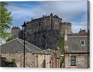 The Castle Canvas Print by Marion Galt