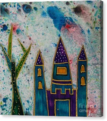 The Castle Vindicates Canvas Print