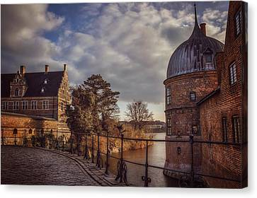 The Castle Walk Canvas Print by Carol Japp
