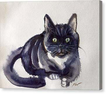The Cat 8 Canvas Print