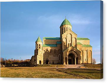 The Cathedral Of The Dormition Canvas Print by Svetlana Sewell
