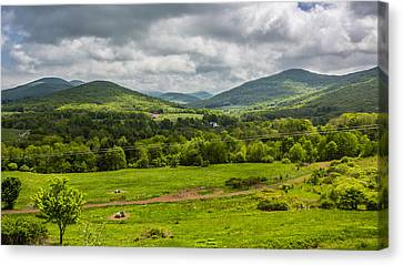 Canvas Print featuring the photograph The Catskill Mountains by Paula Porterfield-Izzo