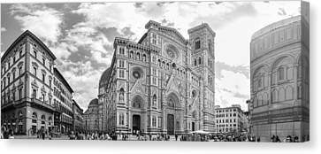 The Cattedrale Di Santa Maria Del Fiore, Italy Canvas Print by David Ortega Baglietto