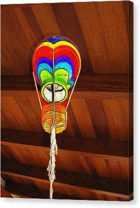 The Ceiling Lamp - Da Canvas Print by Leonardo Digenio