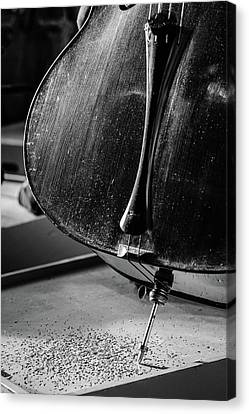 Cello Endpin Canvas Print by Marco Oliveira