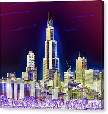 The Center Of Attention 2 Canvas Print by Donald Schwartz