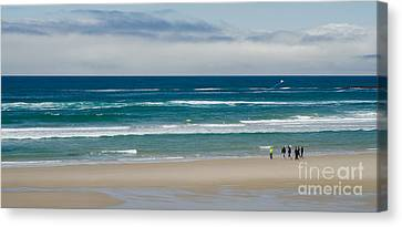 The Central Oregon Coast Canvas Print by Nick  Boren