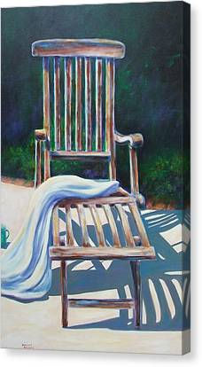 The Chair Canvas Print by Shannon Grissom