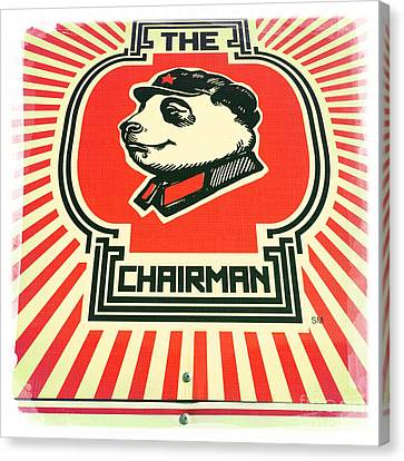 The Chairman Canvas Print by Nina Prommer