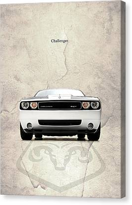 The Challenger Canvas Print by Mark Rogan