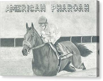 The Champ Canvas Print by Russell Britton