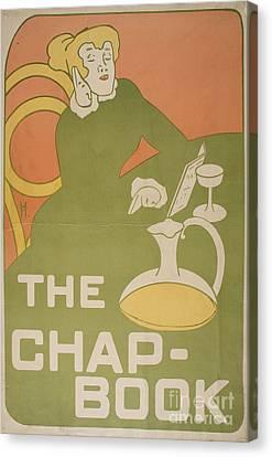 The Chap-book Canvas Print