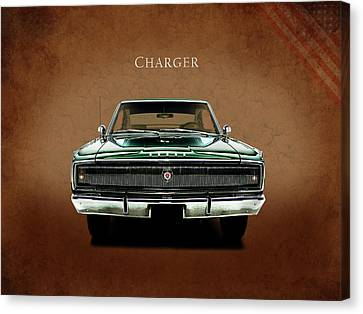 The Charger Canvas Print