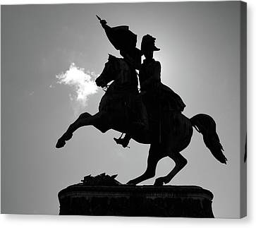 The Charging Horse Canvas Print