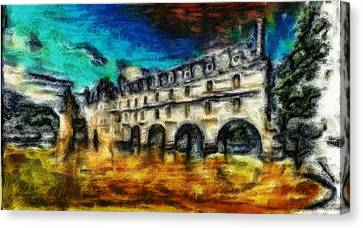 The Chateau Canvas Print