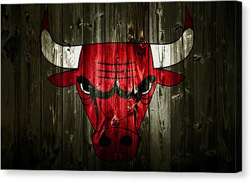 The Chicago Bulls 2c Canvas Print