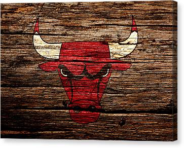 The Chicago Bulls 3a Canvas Print