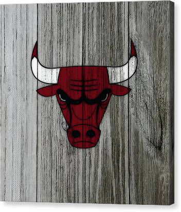 The Chicago Bulls C3                            Canvas Print