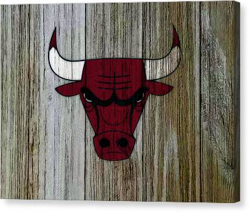 The Chicago Bulls C5                            Canvas Print