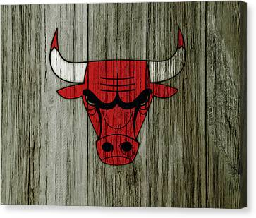 The Chicago Bulls C6                            Canvas Print
