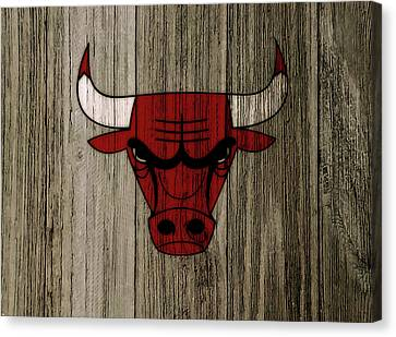 The Chicago Bulls C7                           Canvas Print