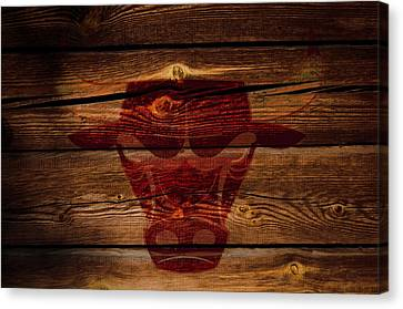 The Chicago Bulls W1 Canvas Print