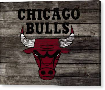 The Chicago Bulls W10 Canvas Print