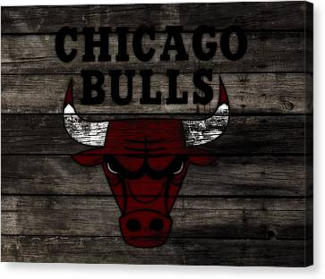 The Chicago Bulls W11 Canvas Print