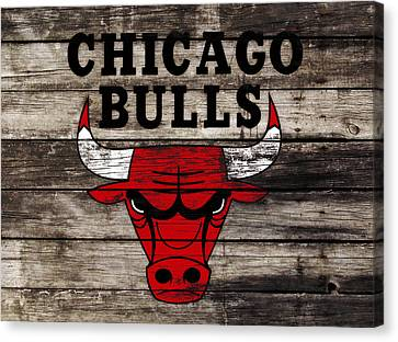 The Chicago Bulls W12 Canvas Print