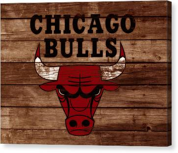 The Chicago Bulls W8 Canvas Print