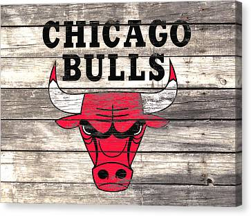 The Chicago Bulls W9 Canvas Print