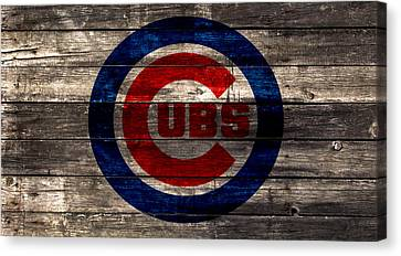 The Chicago Cubs 1w Canvas Print