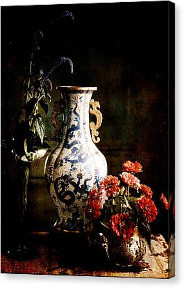 The Chinese Vase Canvas Print by Sarah Vernon