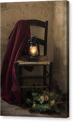 Pine Cones Canvas Print - The Christmas Cape by Robin-Lee Vieira