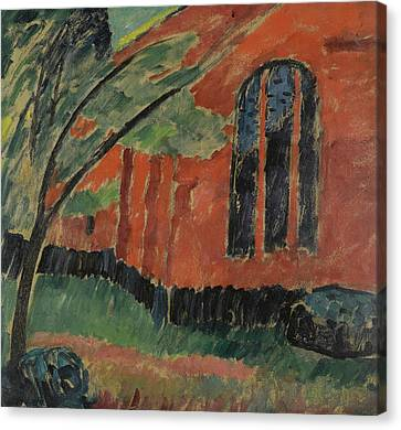 The Church In Prerow Canvas Print