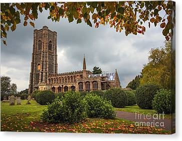 The Church Of St Peter And St Paul Canvas Print by Svetlana Sewell