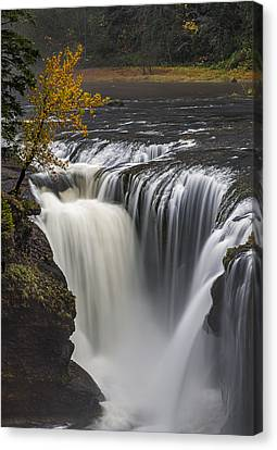 The Chute Canvas Print