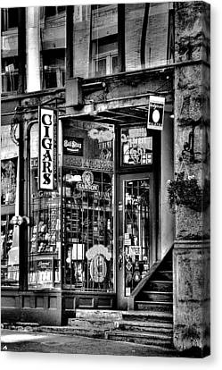 The Cigar Store Canvas Print by David Patterson
