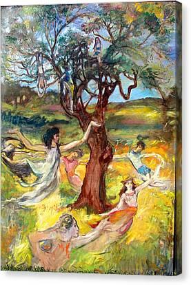 the Cinnamon Tree Canvas Print
