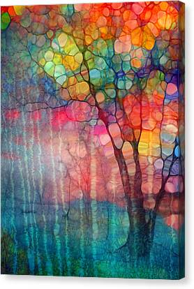 The Circus Tree Canvas Print by Tara Turner