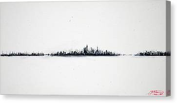 The City New York Canvas Print