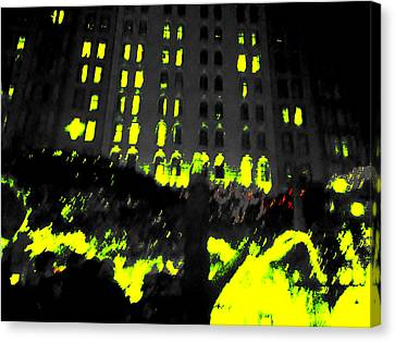 The City Canvas Print by Nature Macabre Photography