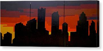 The City Sleeps Canvas Print