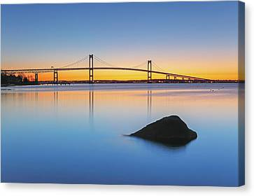 The Claiborne Pell Bridge Canvas Print by Juergen Roth